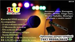 Locação de Karaoke
