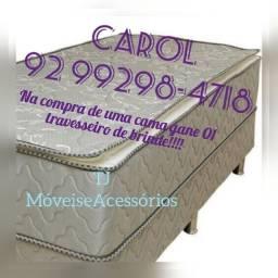 Cama Box Solteiro Confort Plus Molas/&_&/&_