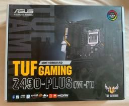 Placa mãe z490 TUF Wi-Fi
