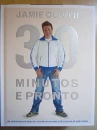Livro Jamie Oliver 30 Minutos e Pronto ( Novo )