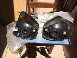 Faróis Mitsubishi Eclipse e Spyder