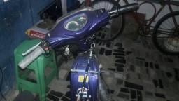 Título do anúncio:  Bicicleta eletrica sousa