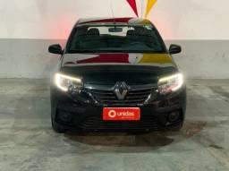 Renault Sandero Life 1.0 - 2020 - Ideal para Uber, financiamento sem entrada, com garantia