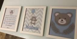 Título do anúncio: Kit quadros decorativos para quarto de bebê