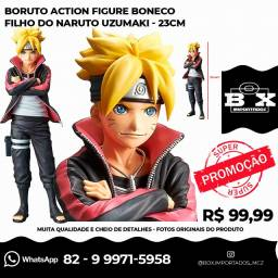 Boruto Action Figure Filho do Naruto Uzumaki - 23cm