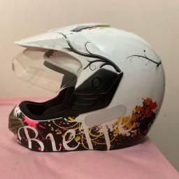 Capacete de Moto Bieff N56