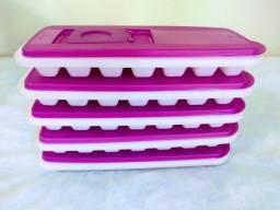 Conjunto de ice cubes plásticos Tupperware