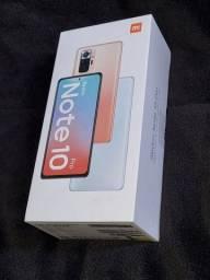 Xiaomi Redmi Note 10 Pro 128GB 6GB RAM Azul - Novo e Lacrado