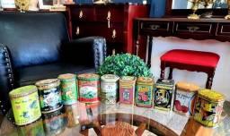 Título do anúncio: Antigas latas de chá