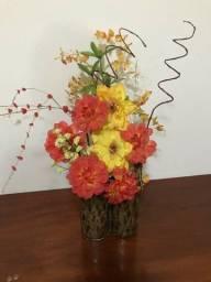Vaso flor decorativo