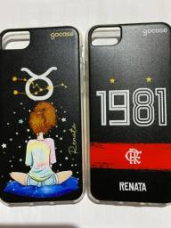Título do anúncio: Capinha iPhone 7 personalizada com o nome Renata.