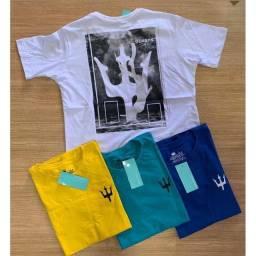kit 10 camisas Osklen Sufing