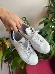 Tênis Adidas Stan Smith Azul Tamanho 41