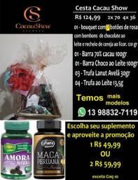 Cesta presente Cacau Show