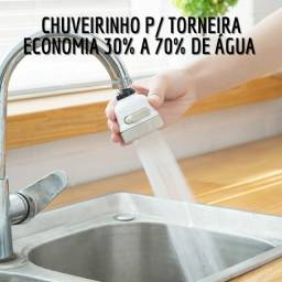 Chuveirinho 3 Jatos Economiza Água - Pronta Entrega