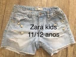 Shorts zara 11/12 -?anos