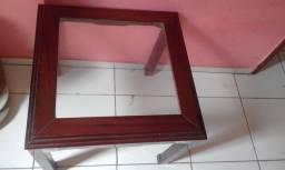 Título do anúncio: Centro de madeira com tampo de vidro