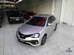Toyota Etios XLS 1.5 Sedan - 2019 - Aceito carro ou moto como entrada