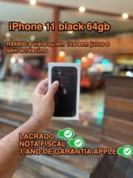 IPhone 11 64gb - lacrado- parcelamos até 10x sem juros e sem acréscimo