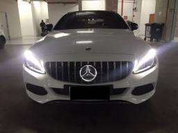 Título do anúncio: Mercedes benz c180 coupé 2018 kit amg