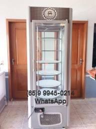 Expositor Refrigerado Giratório Para Bolos