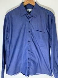 Título do anúncio: Camisa social masculina Jeans