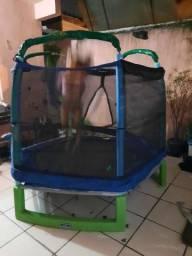 Cama elastica trampolim