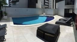 Apartamento com 3 qts sendo uma suite vista mar