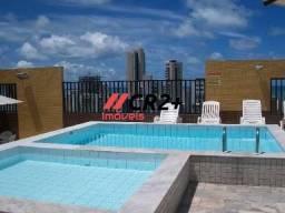 Apartamento 45m² em excelente localização de Boa Viagem.