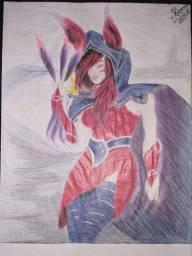 Desenhos a grafite de lápis ou caneta