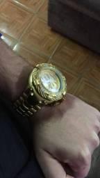 Relogio INVICTA 21359 THUNDERBOLT GOLD AAA