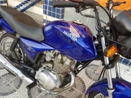 Honda Cg 150 es azul moto 190 CC + comando especial - 2008, usado comprar usado  Pelotas