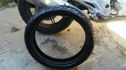 Grande desapego jogo de pneus cb 300 ou twister