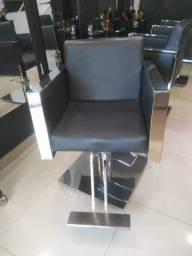 Cadeira cabeleireiro Kixiki barbada