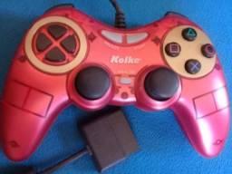 Joystick controle videogame play ps2 pc db15
