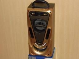 Linda caixa de som Inova usb radio fm 35cm escute o que quiser produto novo