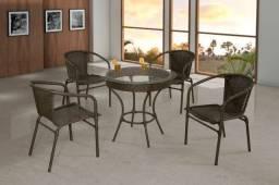 Mesa Ravena C/4 cadeiras