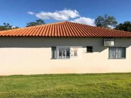 Fazenda com 3 dormitórios para alugar, 48400 m² por R$ 3.000,00/mês - Zona Rural - Rio Ver