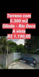 Terreno em Olinda com 5.300 m2 somente a vista