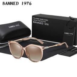 Óculos de sol Polarizada Luxo Feminino