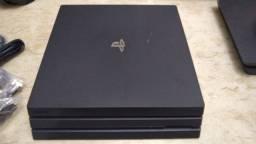 Console Playstation 4 Pro 1TB - Preto Novo sem cx
