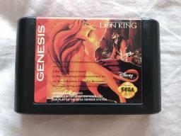 Cartucho Mega Drive The Lion King Rei Leão Original Sega Genesis