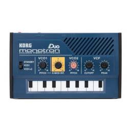 Sintetizador analógico Korg monotron duo dj teclado musical