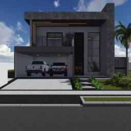 Sobrado com 3 dormitórios à venda, 260 m² por R$ 1.290.000,00 - Condomínio Residencial Gra