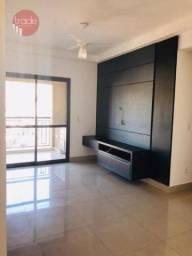 Apartamento para alugar, 71 m² por R$ 2.300,00/mês - Jardim Irajá - Ribeirão Preto/SP