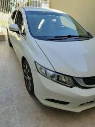 Honda Civic 2016 completo 64.000 aceito troca