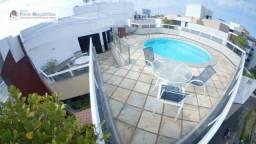 Cobertura com 4 dormitórios à venda, 360 m² por R$ 2.200.000 - Rio Vermelho - Salvador/BA