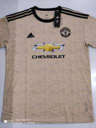 Camisa Manchester United Away Adidas 19/20 - Tamanhos: P, M, G