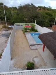 Casa de praia com piscina em Itamaracá