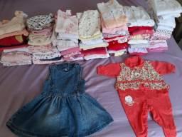 Roupas de Bebê (menina 0 a 1 ano)